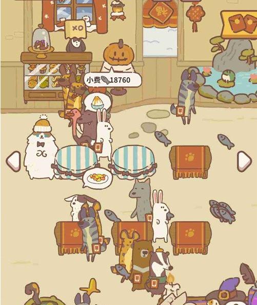 动物餐厅万圣节设施解锁汇总