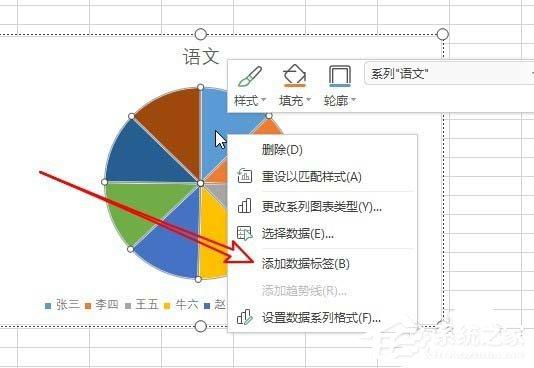 wps怎么制作出彩色二维饼形图 wps彩色二维饼形图制作教程详解