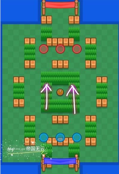 荒野亂斗足球模式精準射門地圖攻略