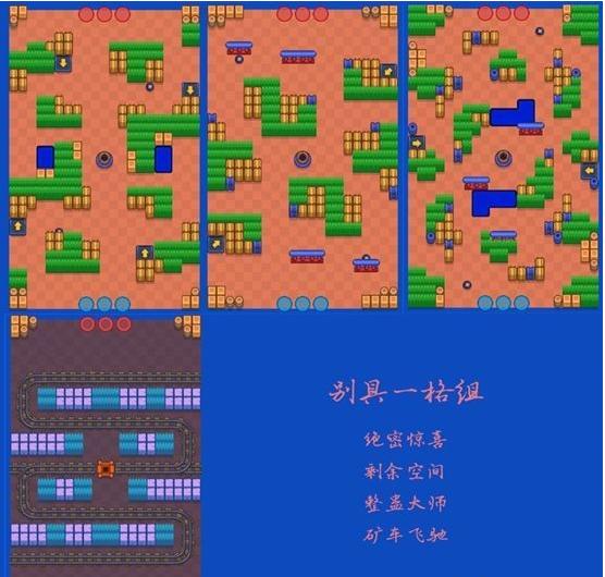 荒野亂斗寶石爭霸模式全地圖攻略